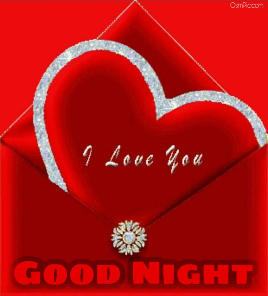 Lovely good night i love you image