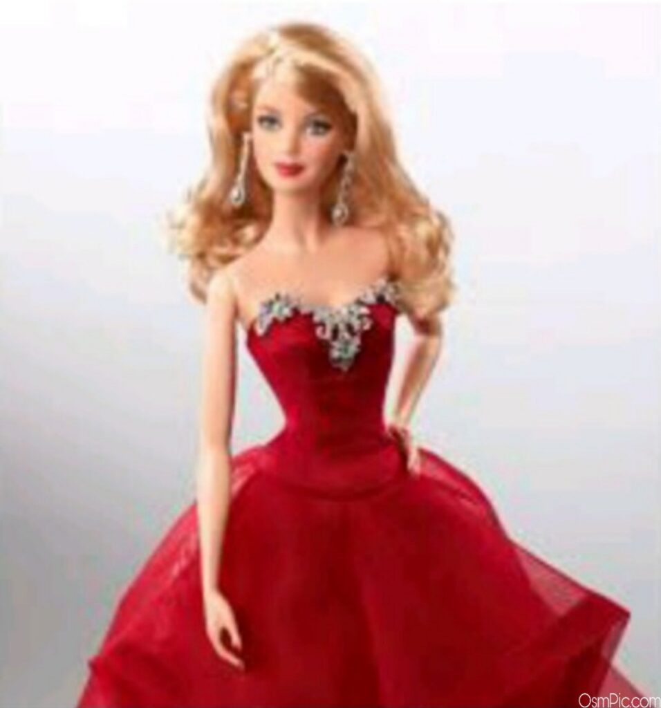 Red Barbie Doll Wallpaper