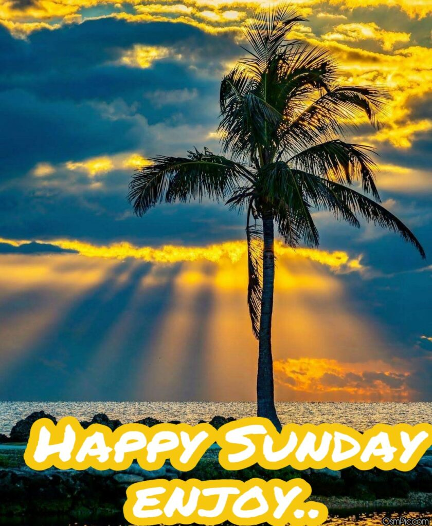 Awesome Happy Sunday good morning images get from osm pic