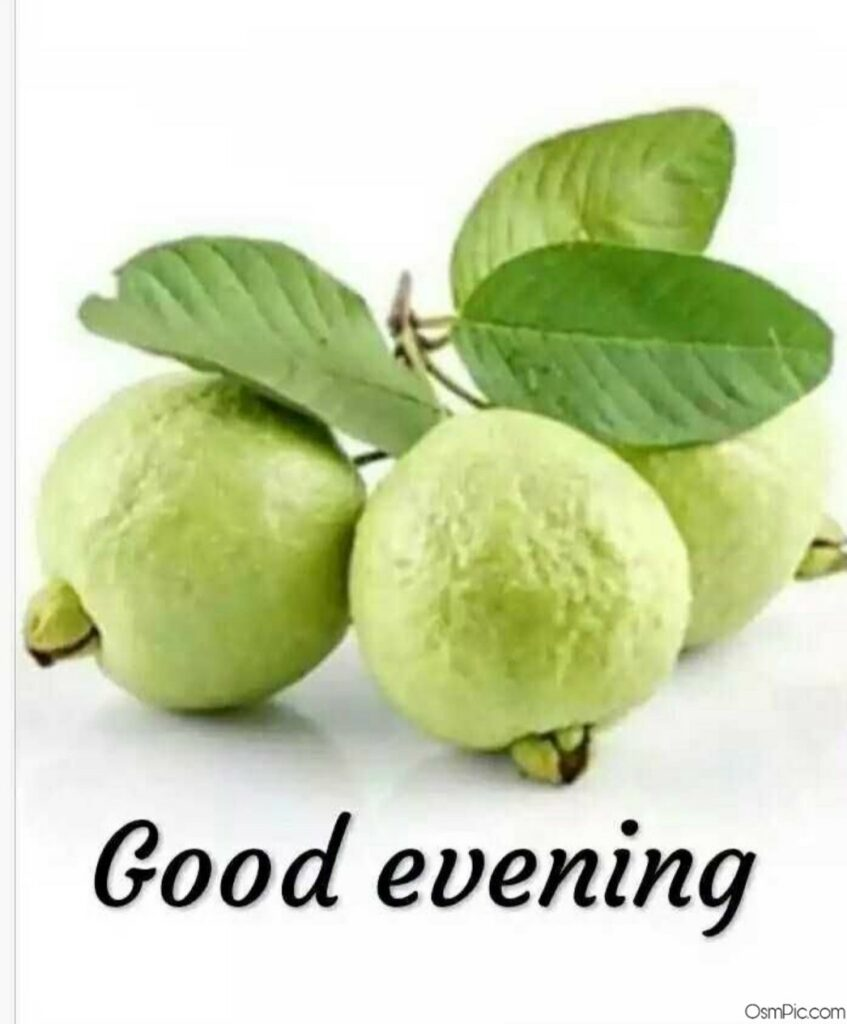 good evening image with fruits
