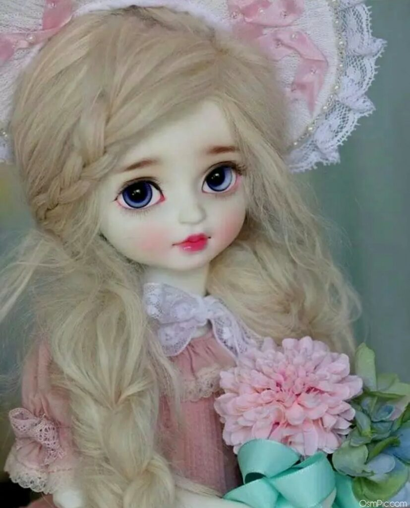 barbie doll images with flowers