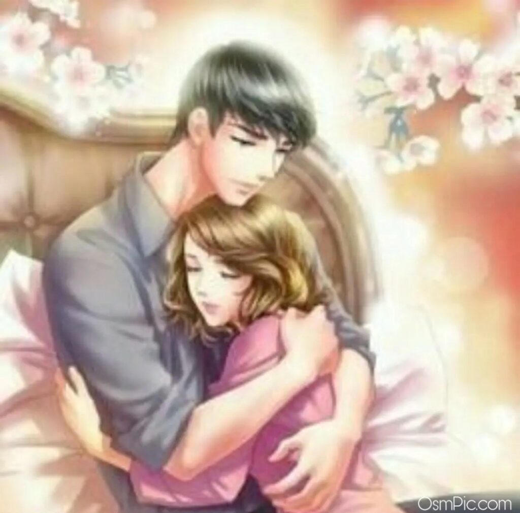 New cute cartoon couple images for facebook
