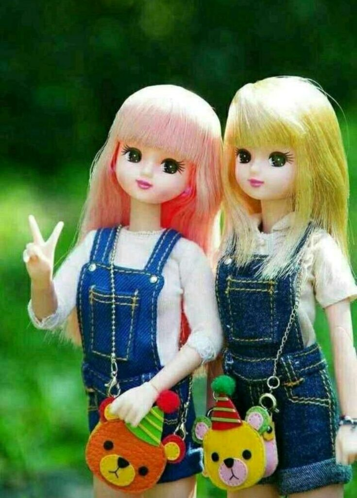 Barbie Doll Couple Pic for Whatsapp Dp