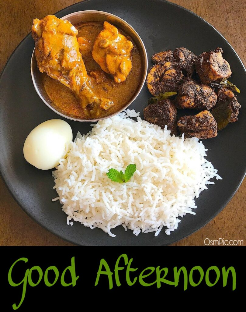 Good Afternoon Non Veg Food Picture