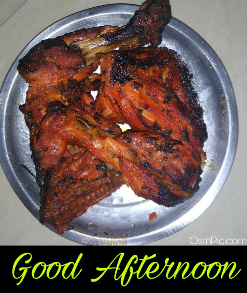 good afternoon images with non veg