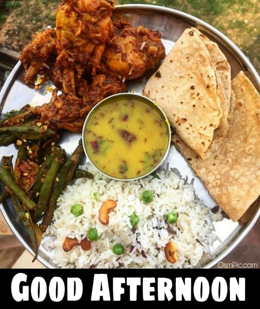 New good afternoon images with lunch