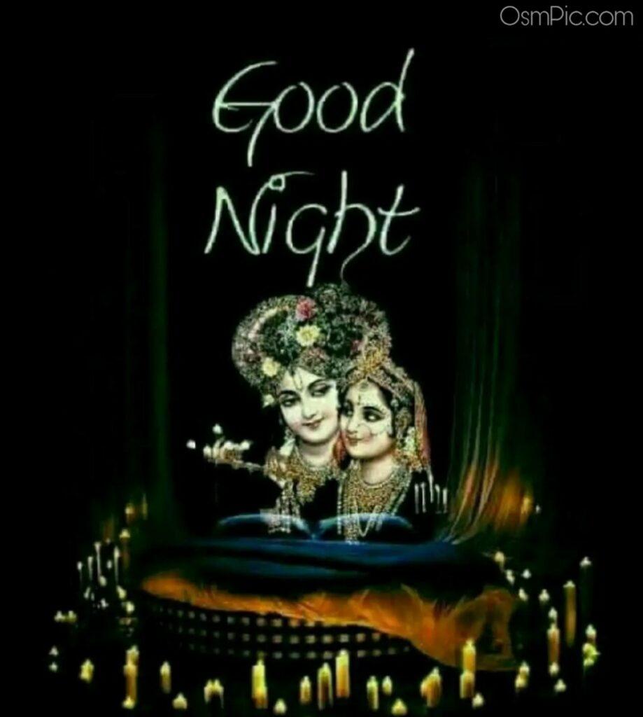 Good Night Radha Krishna Wallpaper Download For Whatsapp Dp