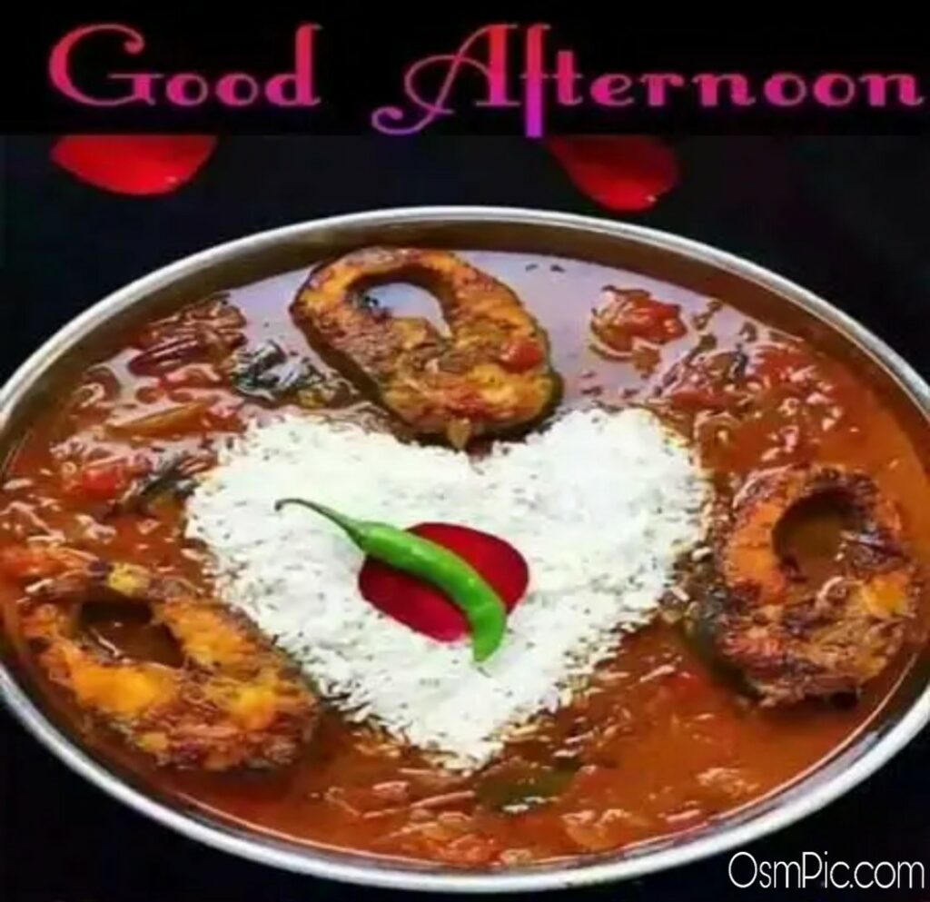 good afternoon fish lunch images