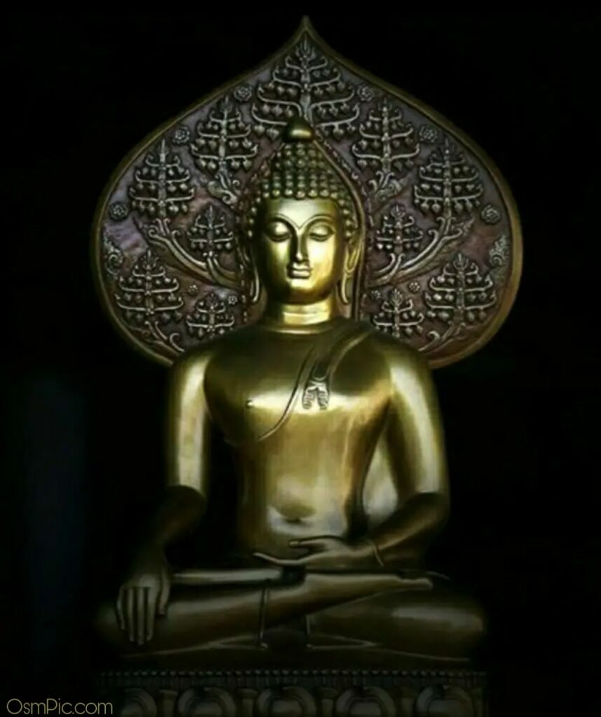 Unique dp of gautam buddha for Whatsapp