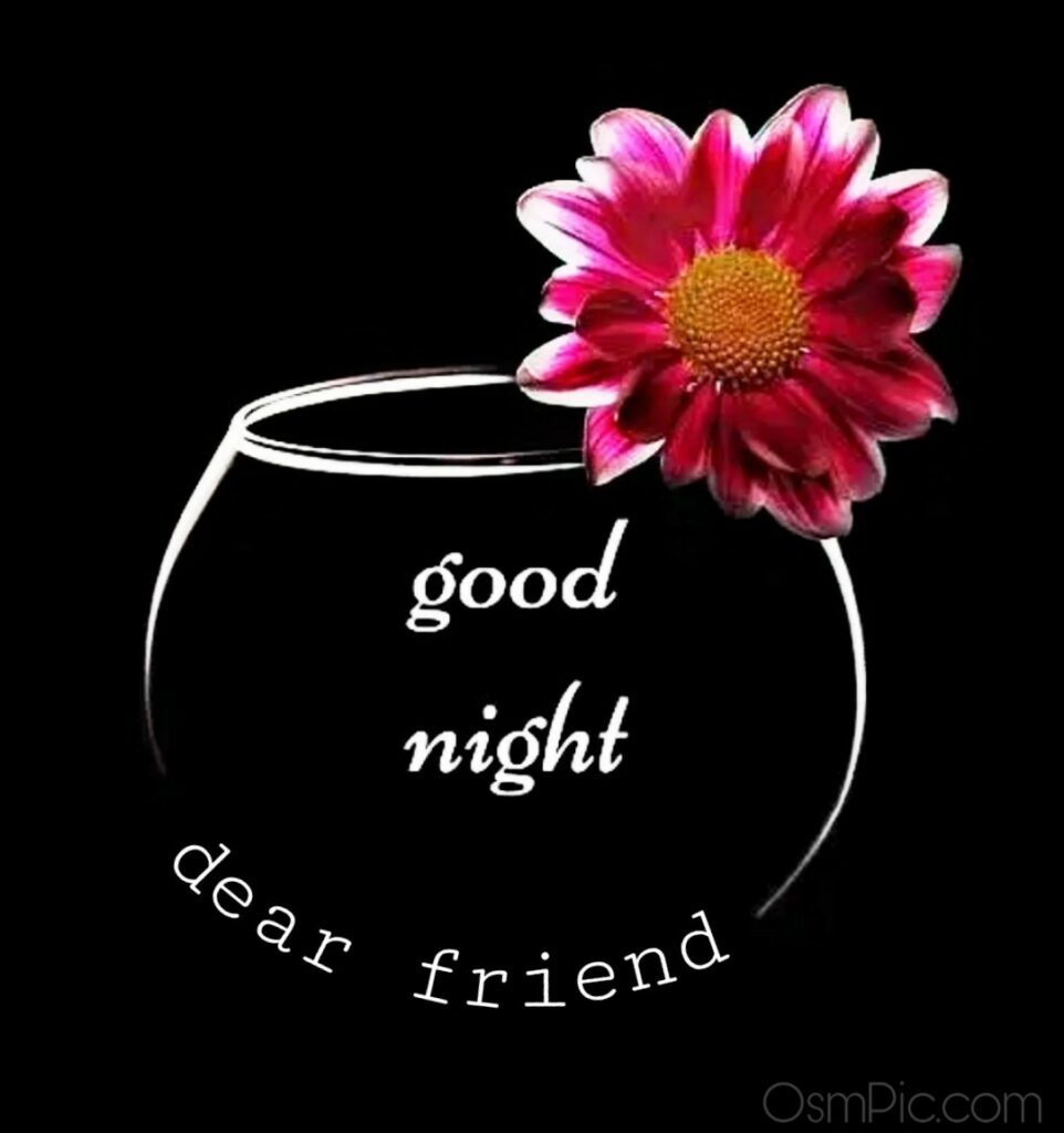 Good Night Image for friend