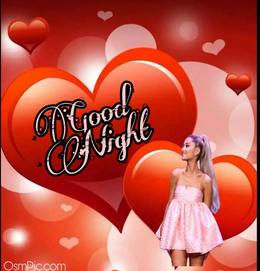 Cute good Night image with barbie doll