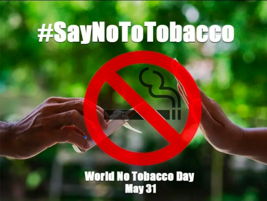 Say No To Tobacco Graphic