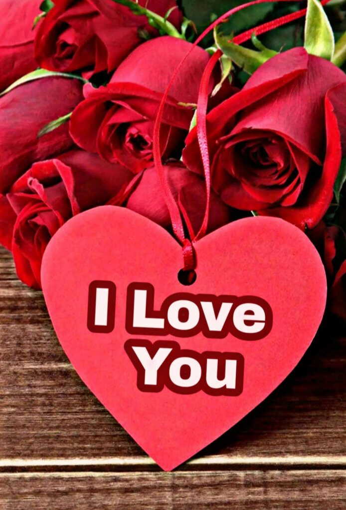 I love you red Rose for boyfriend