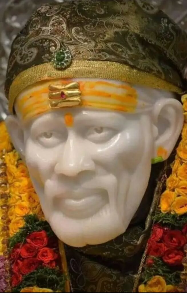 A beautiful image of Shirdi sai baba for android mobile Wallpaper