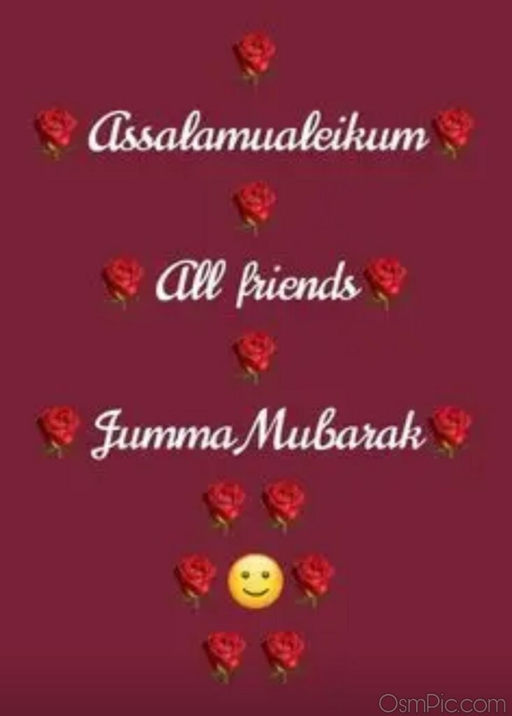 New Jumma Mubarak Whatsapp Status Photo Download