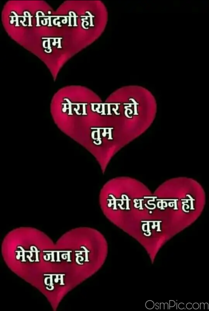 I love you jaan quotes in hindi