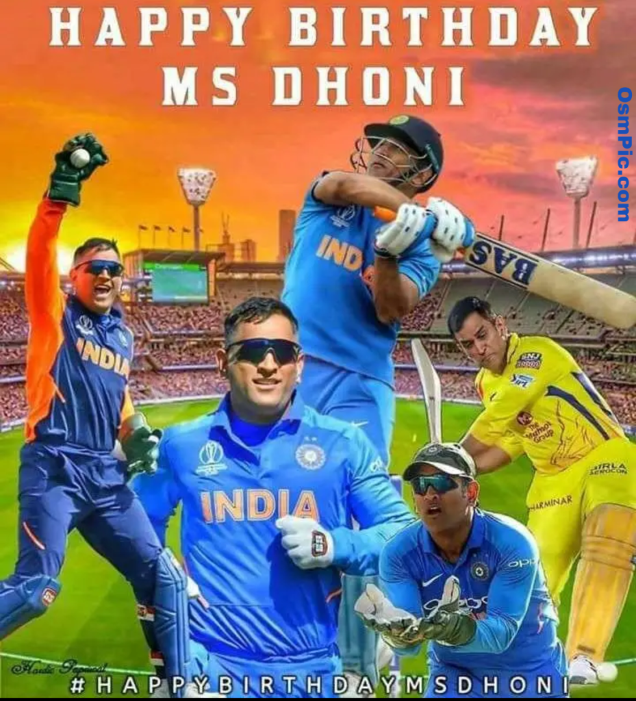 Ms dhoni birthday pic for WhatsApp status