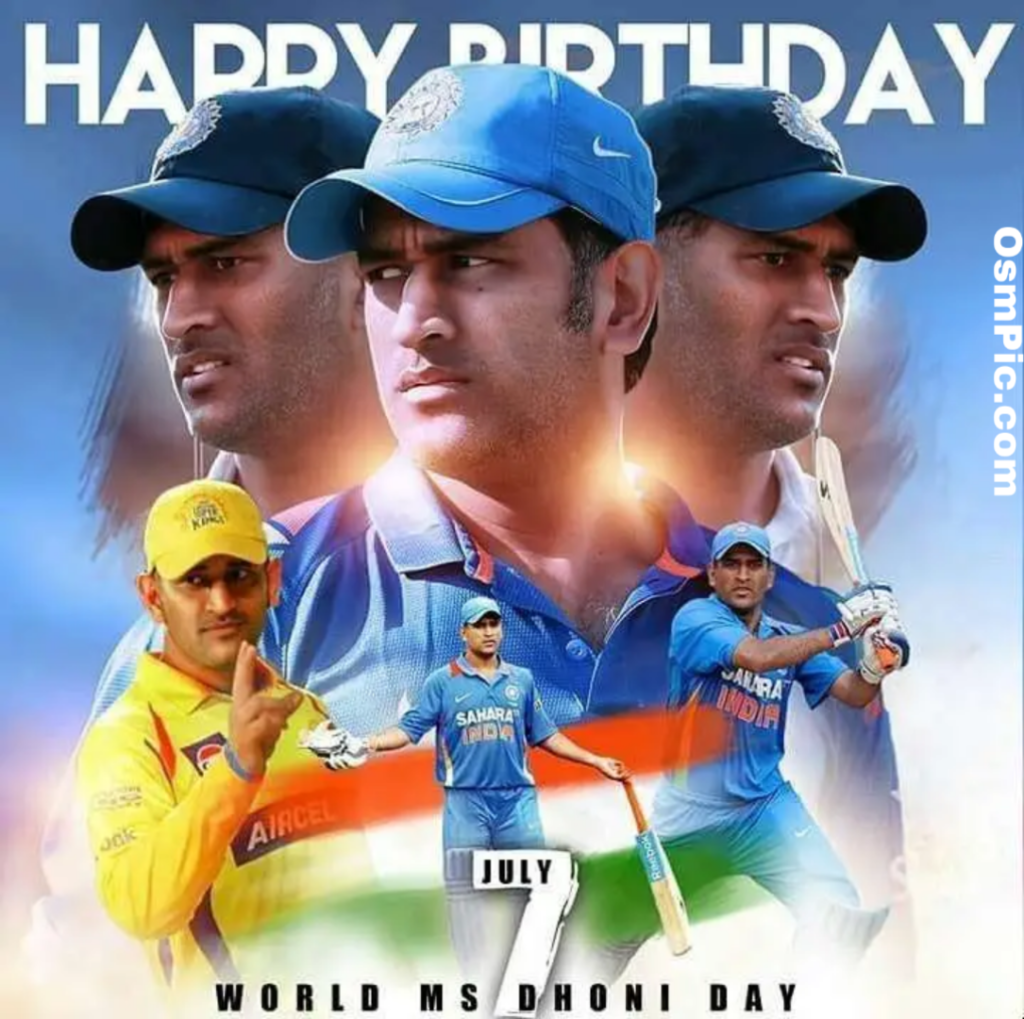 Happy bday dhoni