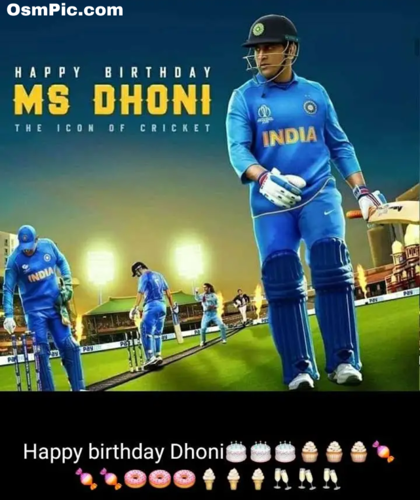 M s dhoni birthday special