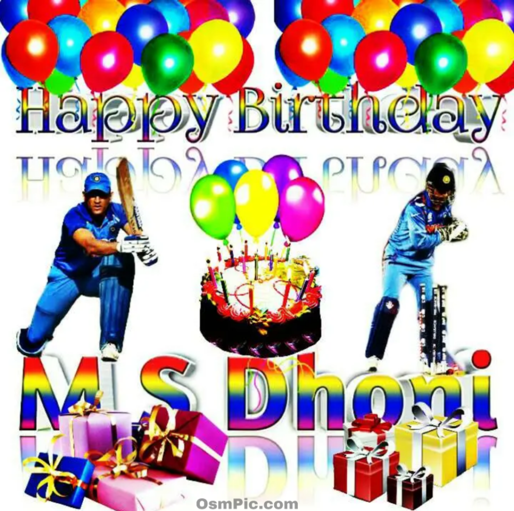 Happy birthday mahendra Singh dhoni