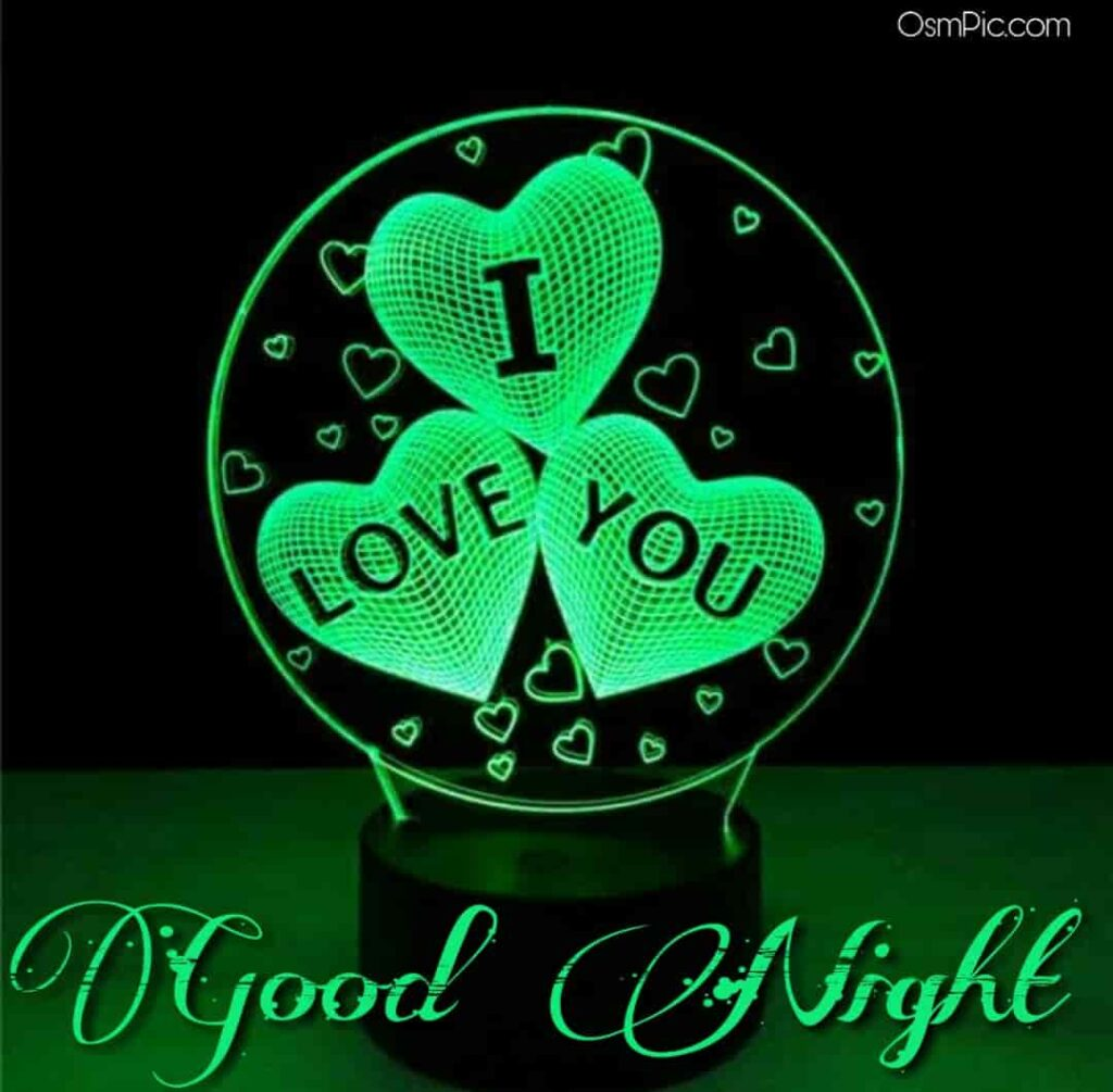 i love you images for good night