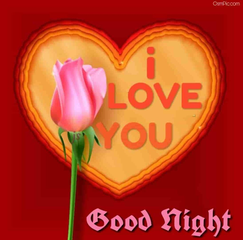 I love you good night rose for love