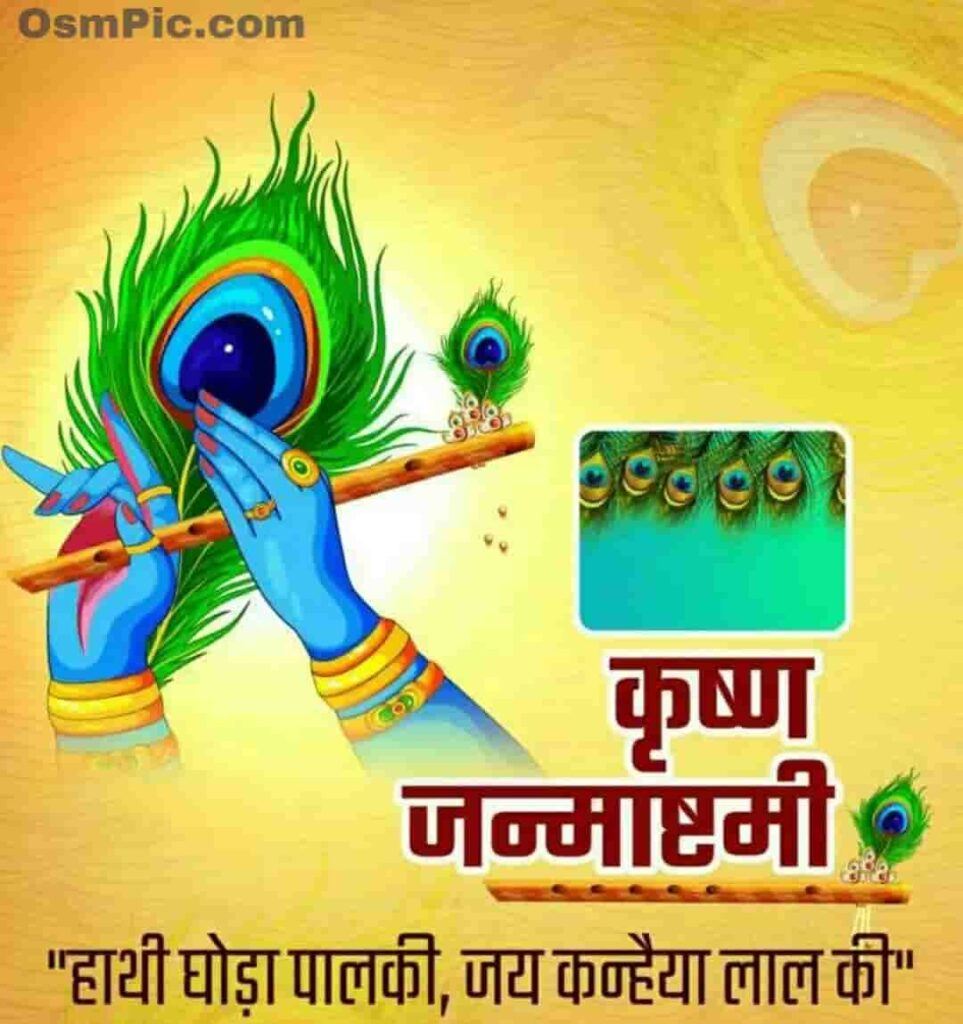 Krishna Janmashtami status dp for WhatsApp