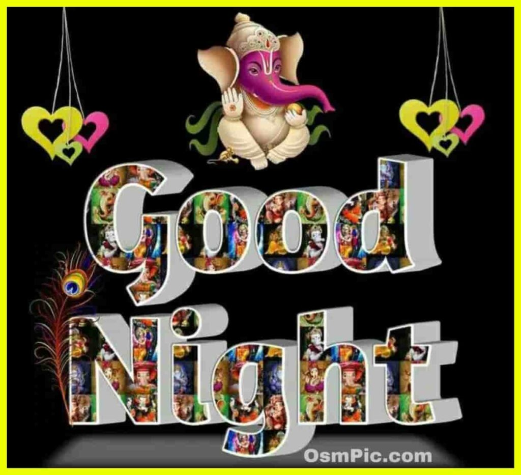 Good night ganesha