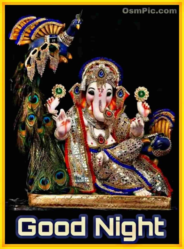 good night ganpati  images pictures photos wallpapers download