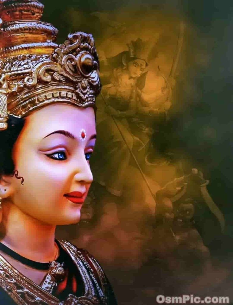 Beautiful Goddess Maa Durga whatsapp dp profile pic download