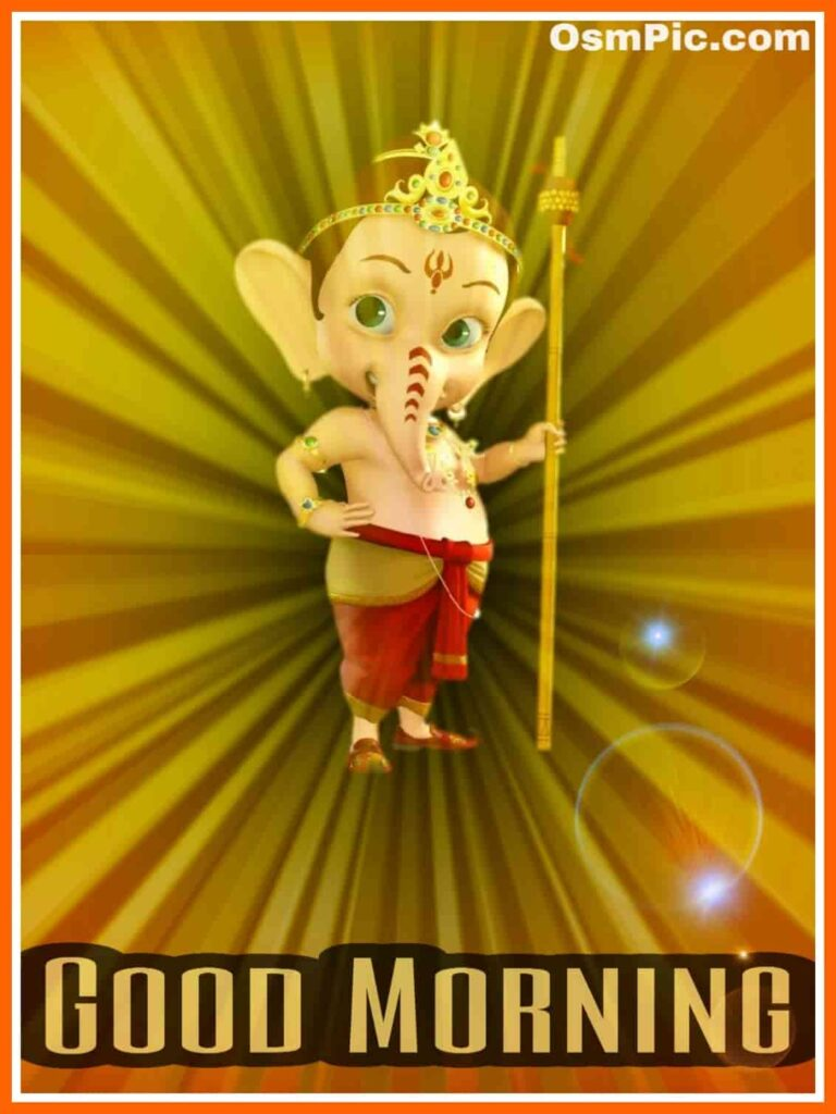 Top 55 Good Morning Ganpati Images Wishes Photos Wallpapers